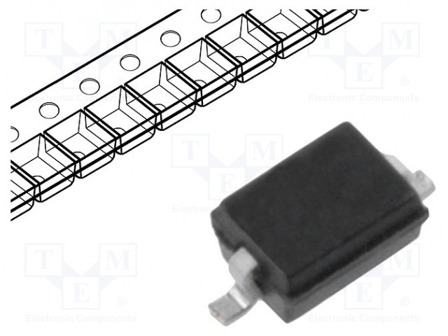 ON SEMICONDUCTOR BAS16HT1G - Diode: switching