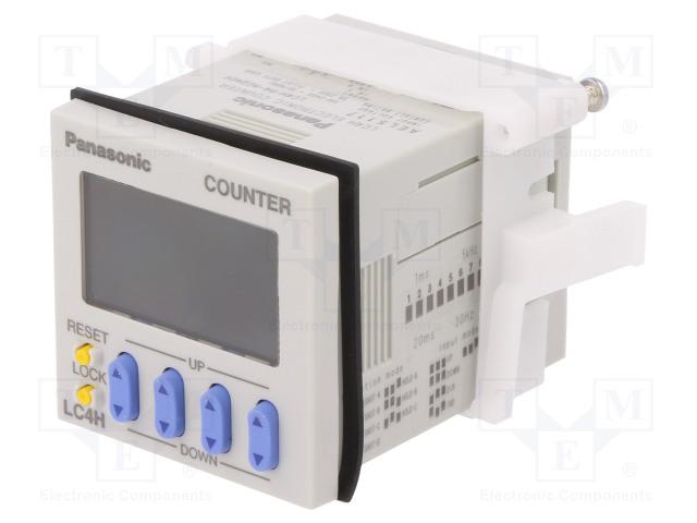 PANASONIC LC4H-R4-AC240V - Counter: electronical