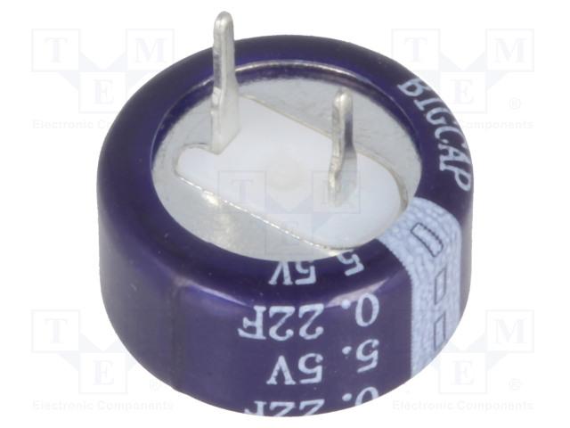 BIGCAP BCE005R5C224FS - Kondenzátor: elektrolytický