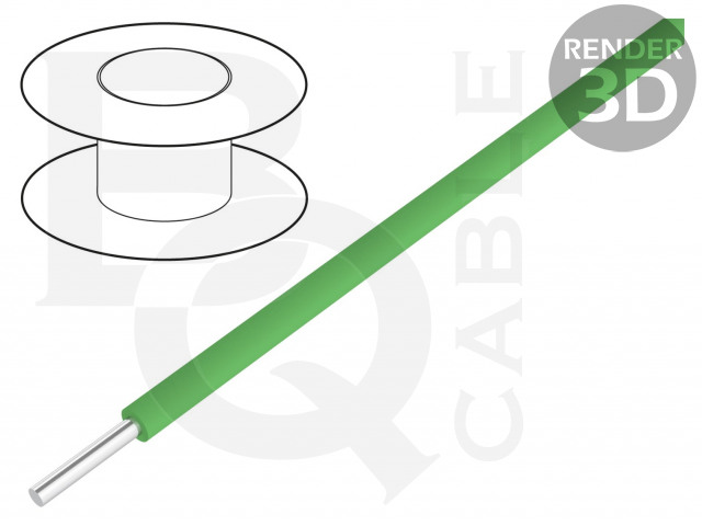 KYNAR-GR/100 BQ CABLE, Leiding