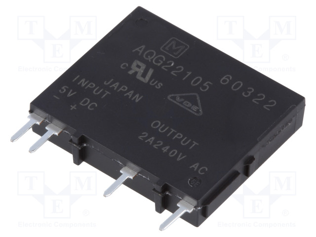 PANASONIC AQG22105 - Relay: solid state