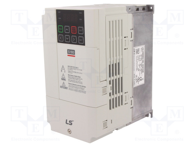 LS INDUSTRIAL SYSTEMS LSLV0008 S100-1EOFNM - Vector inverter