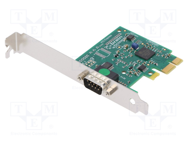 BRAINBOXES IX-100 - Industrial module: PCI Express communication card