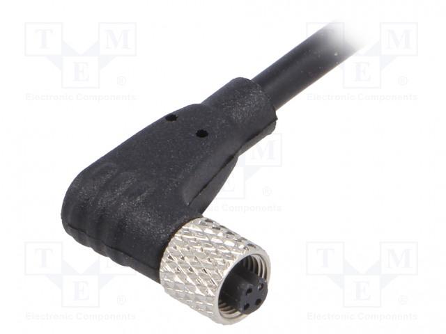BULGIN PXPTPU05RAF03ACL010PUR - Connector: M5