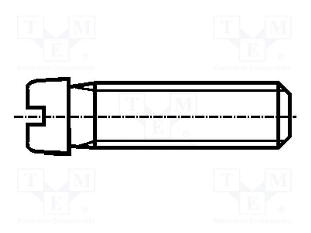 BOSSARD 1167200 - Šroub
