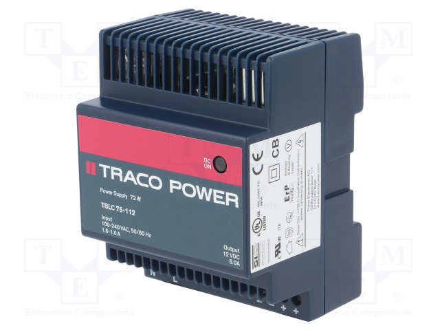 TRACO POWER TBLC 75-112 - Power supply: switched-mode