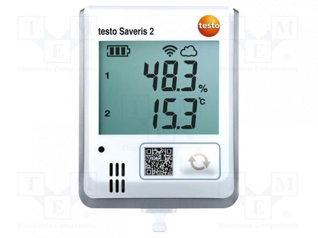 TESTO TESTO SAVERIS 2-H1 WIFI 0572 2004 - Záznamník: teploty a vlhkosti