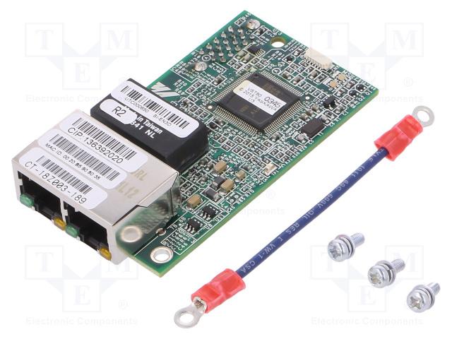 OMRON SI-EN3D - Ethernet/IP 2-port communication card
