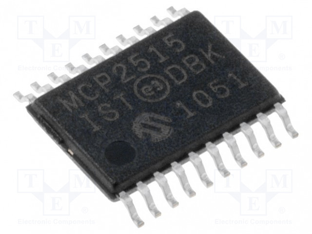 MICROCHIP TECHNOLOGY MCP2515-I/ST - IC: CAN controller