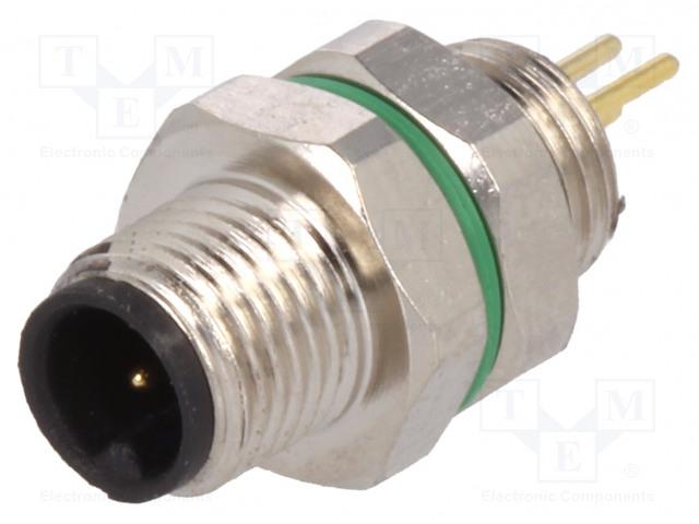 BULGIN PXMBNI05FPM03APC - Connector: M5