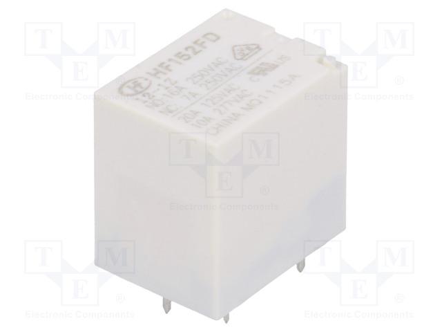 HONGFA RELAY HF152FD/12-1Z - Relé: elektromagnetické