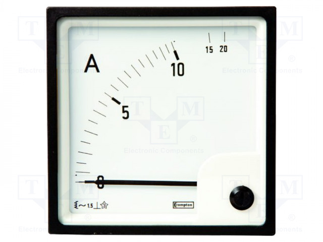 CROMPTON - TE CONNECTIVITY 039-90211-0000-1A-0-500A - Amperometer