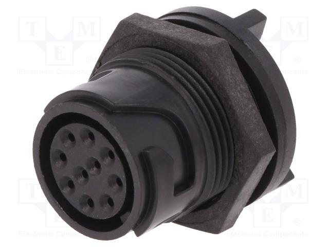 BULGIN PXP4013/10S - Connector: circular