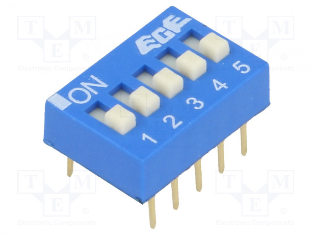 ECE EDG105S - Switch: DIP-SWITCH