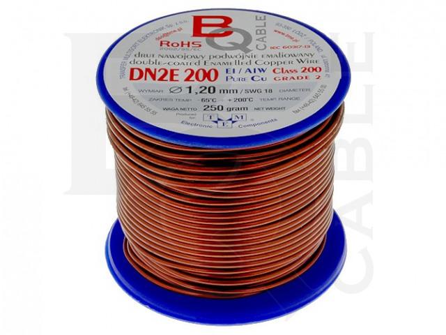 DN2E1.20/0.25 BQ CABLE, Wickeldraht