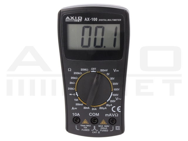 AX-100 AXIOMET, Digitalmultimeter