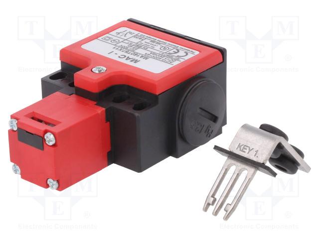 PANASONIC MA160T87X11 - Safety switch: key operated