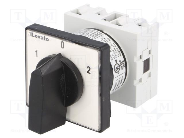 LOVATO ELECTRIC GX1651U - Přepínač: vačkový
