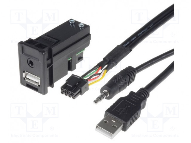 PER.PIC. C8304-USB - Adaptér USB/AUX