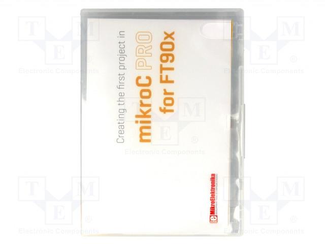 MIKROELEKTRONIKA MIKROC PRO FOR FT90X - Kompilator
