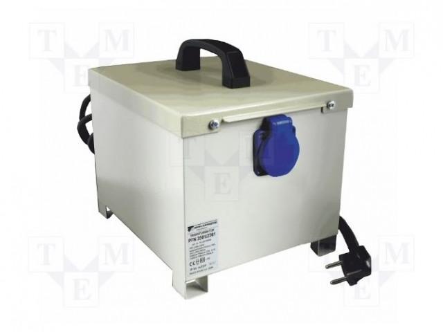 BREVE TUFVASSONS PFN2400/1500 230/230V - Transformátor: ochranný