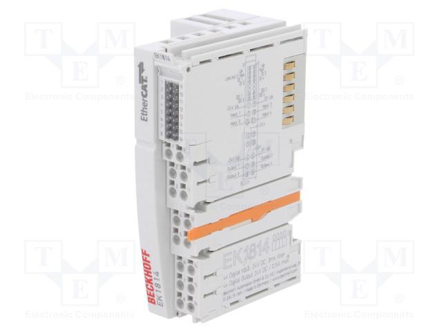 Beckhoff Automation EK1814 - Industrial module: coupler