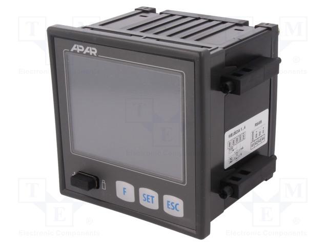 APAR AR654/S2/P/P/P/P/IP30 - Čtyřkanálový regulátor