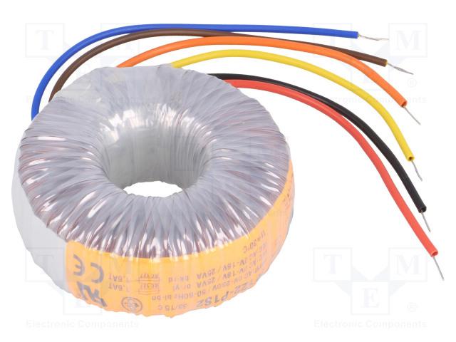TALEMA 55122-P1S2 - Трансформатор: тороидальный