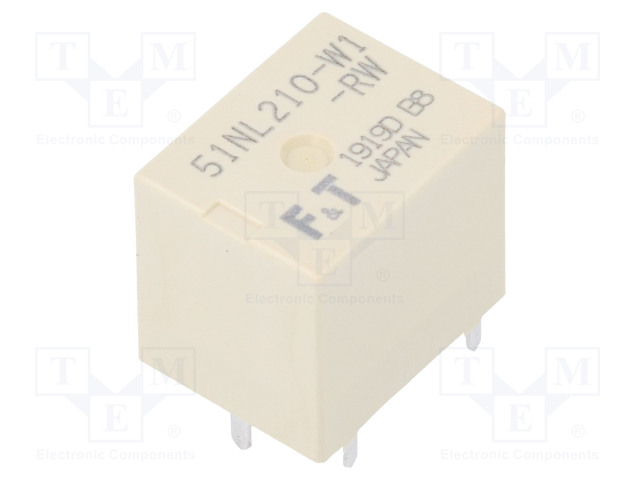 FUJITSU FBR51NL210W1-RW - Relé: elektromagnetické