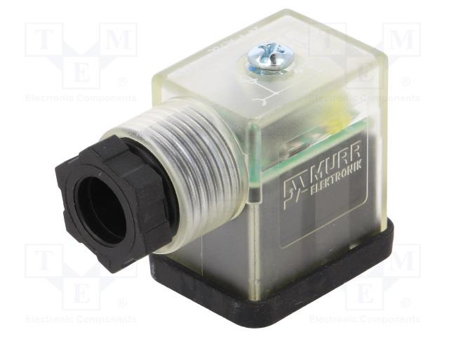 MURR ELEKTRONIK 7000-29565-0000000 - Konektor: pro ventily