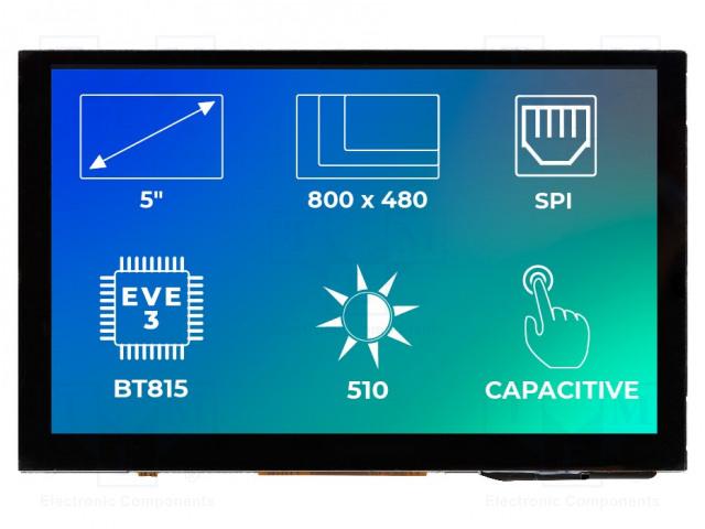 Riverdi RVT50AQBNWC00 - Display: TFT