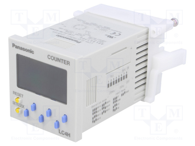 PANASONIC LC4H-PS-R6-AC240V - Counter: electronical