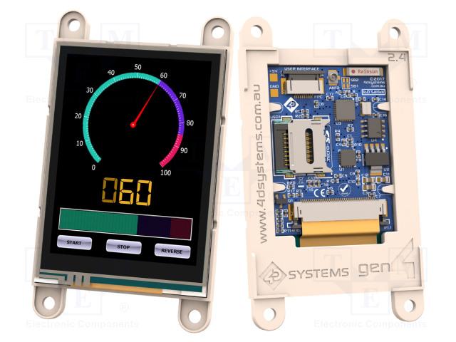 4D Systems GEN4-IOD-24T - Display: TFT