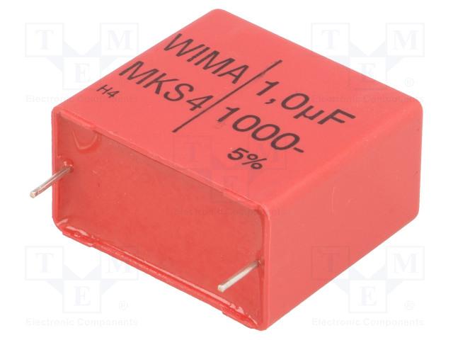 WIMA MKS4O141006G00JSSD - Kondenzátor: polyesterový