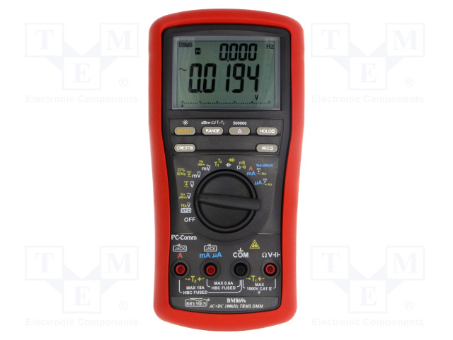 BM869S BRYMEN - Digital multimeter BM869 | TME - Electronic