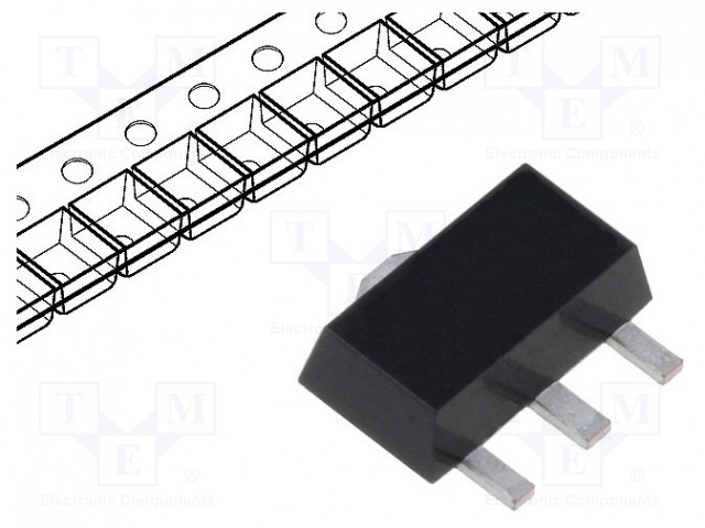DIODES INCORPORATED BCX5116TA - Tranzistor: PNP