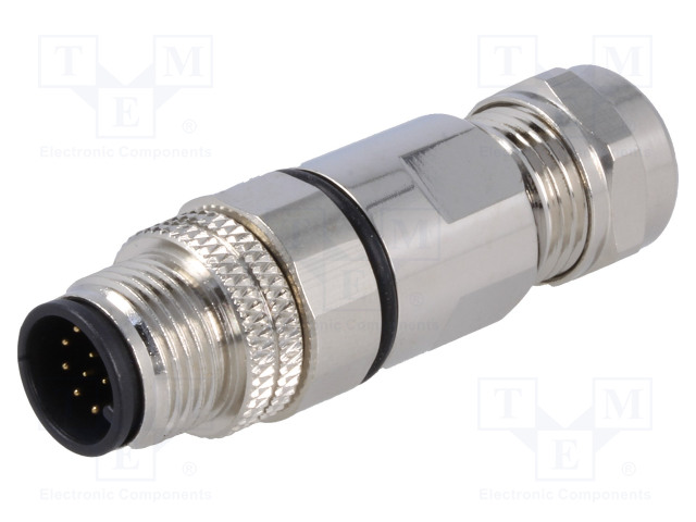 BULGIN PXMBNI12FIM12ASCPG7 - Plug