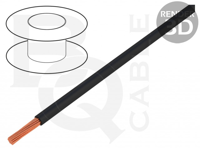 FLRYW-B10.00-BK BQ CABLE, Cablu