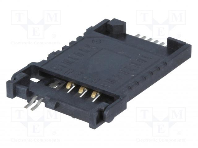 AMPHENOL C707 10M006 000 2 - Konektor: pro karty
