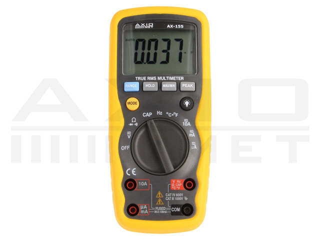 AX-155 AXIOMET, Digitaler Multimeter