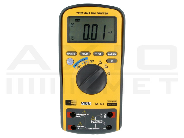 AX-174 AXIOMET, Digitale multimeters