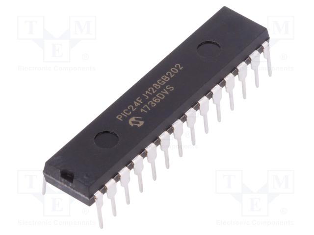 MICROCHIP TECHNOLOGY PIC24FJ128GB202-I/SP - PIC microcontroller