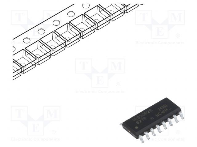 INFINEON TECHNOLOGIES IRS2092STRPBF - Audio amplifier