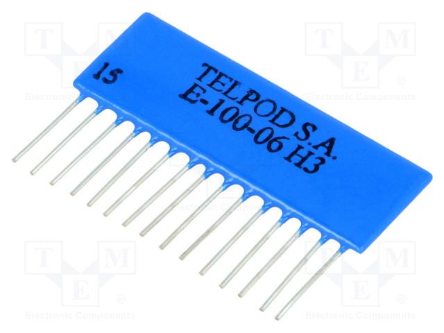 TELPOD E-100-06H - Hybrydowy układ logiczny