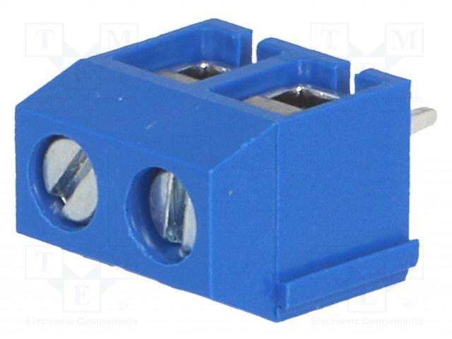 DEGSON ELECTRONICS DG306-5.0-02P-12-00A(H) - Svorkovnice do plošného spoje
