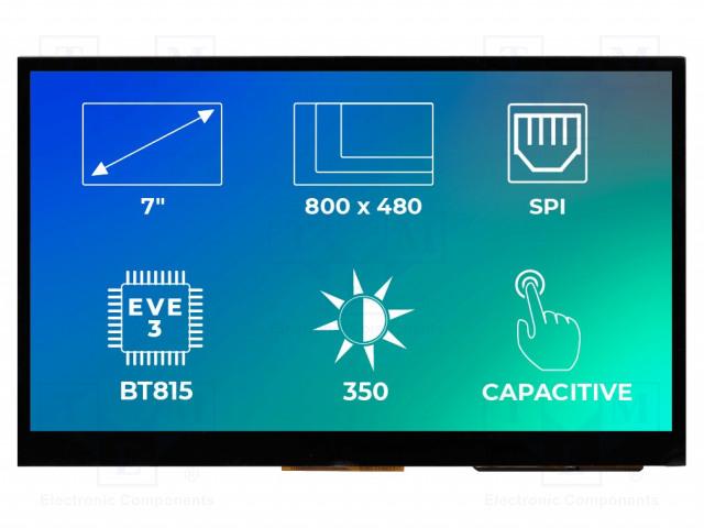 Riverdi RVT70AQBNWC00 - Display: TFT