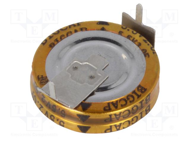 BIGCAP BCE005R5H205FS - Kondenzátor: elektrolytický