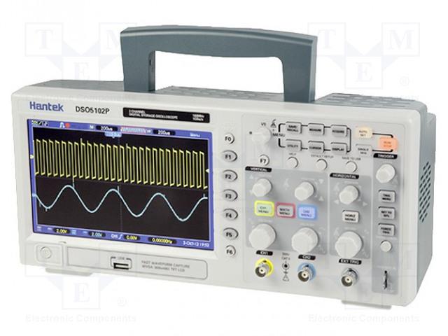 HANTEK DSO5102P - Osciloskop: číslicový