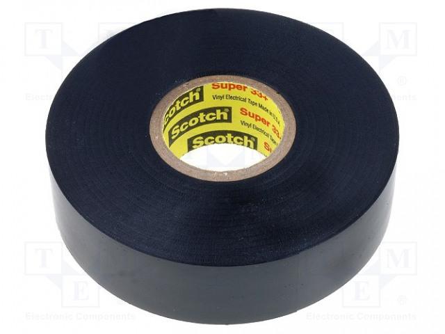 SCOTCH SUPER 33+ 3M - Tape: electrical insulating SCOTCH-33+