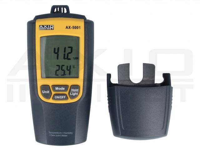 AX-5001 AXIOMET, Hőmérő-higrométer